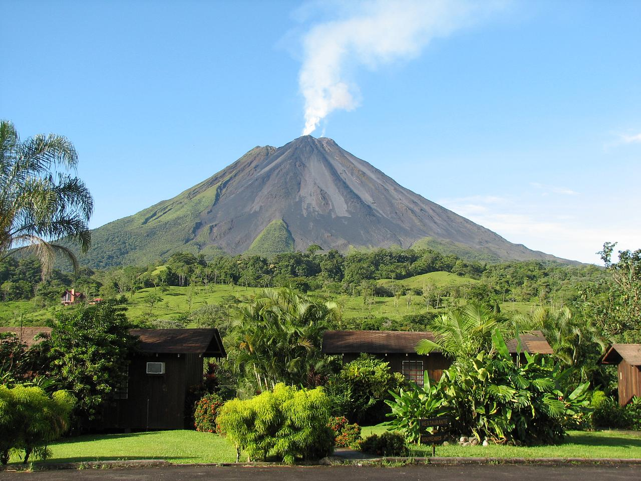 Le fameux volcan Arenal